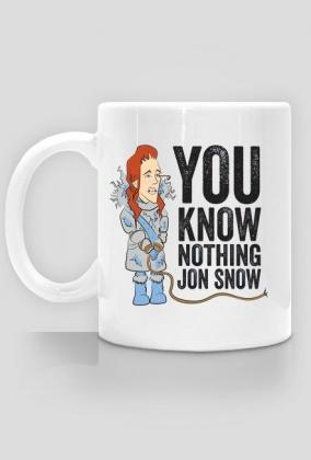 You know nothing, Jon Snow - kubek