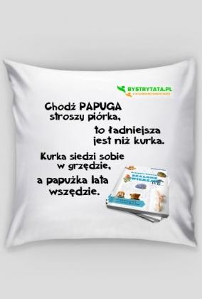 """Poszewka na """"Jaśka"""" z bajką - PAPUGA"""
