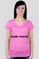 """T-shirt dla kobiet z napisem """"będę mamą!"""""""