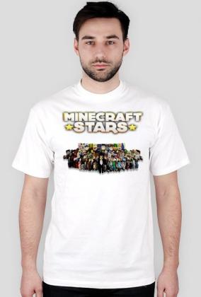 Koszulka Minecraft Stars