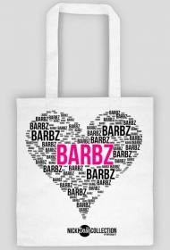 BARBZ HEART BAG (White)
