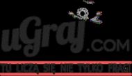 Pluszowy miś z logiem uGraj.com