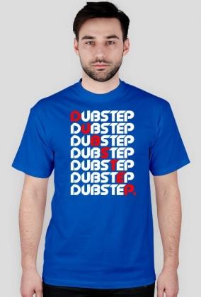 Koszulka Dubstep Line (niebieska)