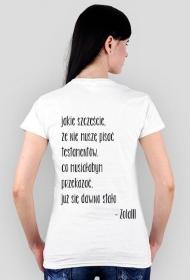 koszulka testamentowa