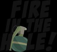CSGO: Fire in the hole! (Koszulka męska)