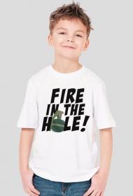 CSGO: Fire in the hole! (Koszulka dziecięca)