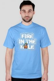 Fire in the hole 2 - Męska koszulka