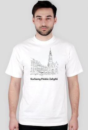 Koszulka męska Kochamy Polskie Zabytki v.3