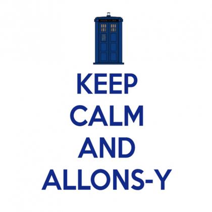 "Doctor who ""Allons-y"" bluza męska"