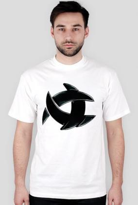 Koszulka ALONE biała logo