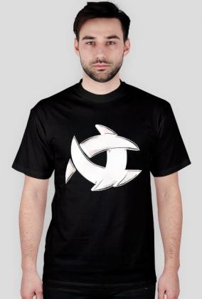 Koszulka ALONE czarna logo