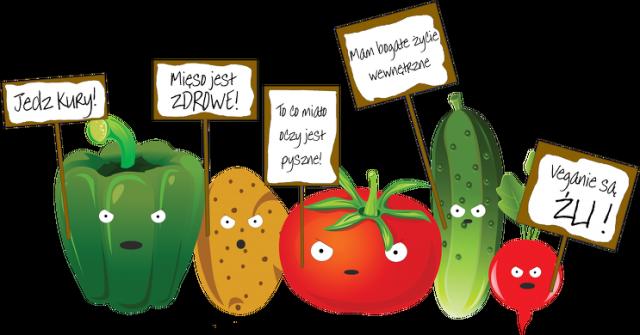 Złe warzywa - damska - TakaKura