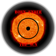 Koszulka damska BORN UNDER Słońce