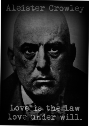 Koszulka Crowley Love is the law - tanio!