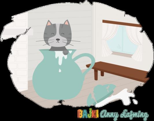 Bajki Anny Łajming - O niegrzecznym kotku