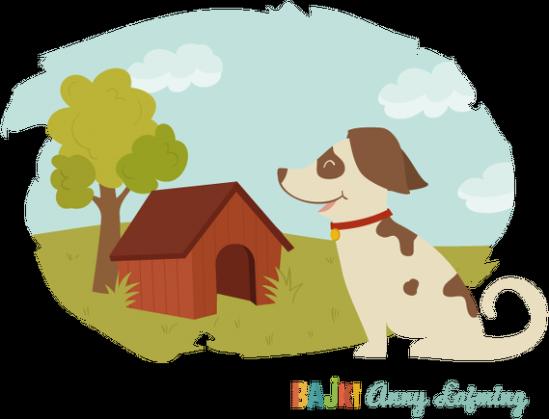 Bajki Anny Łajming - Pies z kotem