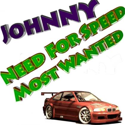 Johnny W T-Shirt White NFS