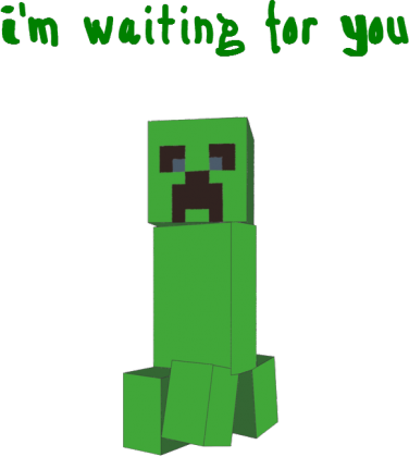 Creeper I'm waiting for You - bluza