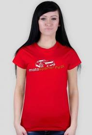 T-shirt damski Motospamerzy nadruk przód