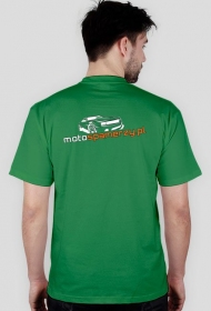 T-shirt męski Motospamerzy nadruk tył