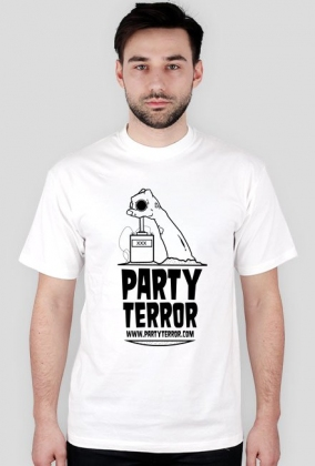 Party Terror - Classic White