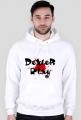 Bluza męska - biała - DeXteR Play