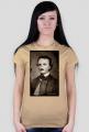 Poe t-shirt damski (sepia)