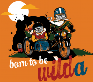 Born to be WILDa - krój DAMSKI
