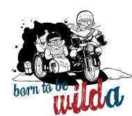 Born to be WILDa / wersja CZB krój DAMSKI