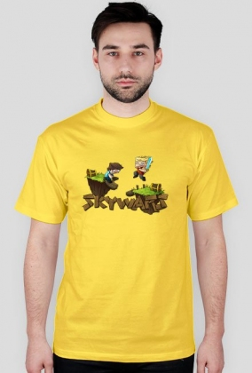 Minecraft-Koszulka-Męska