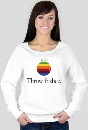 Bluza damska - THROW FRISBEE