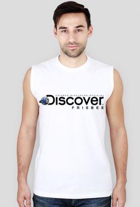 Koszulka męska (bez rękawów) - DISCOVER THE FRISBEE (2 kolory!)