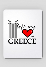 Podkładka pod mysz - I left my heart in Greece