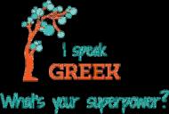 I speak Greek