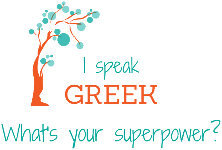 I speak Greek