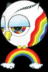 Rainbowl Kubek