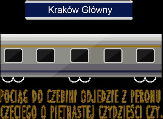 """Eko torba """"Pociąg do Czebini"""""""
