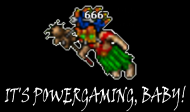 It's Powergaming - Black - Male