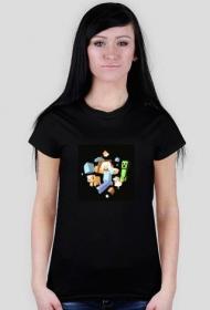 koszulka damska minecraft nr 1