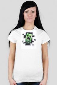 koszulka damska - minecraft nr 2