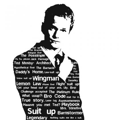Koszulka Barney Stinson Biała