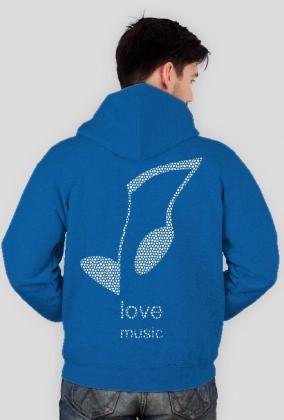 LOVE MUSIC duży tył