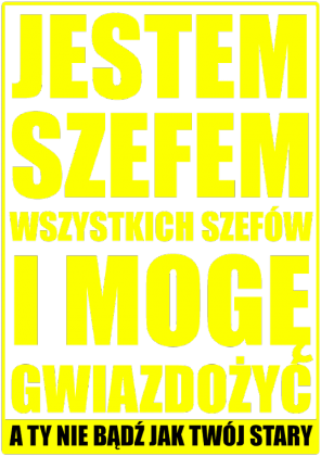SZEF black and yellow