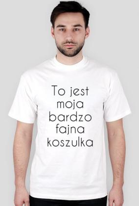 e94e5a59c Bardzo Fajna Koszulka - koszulki męskie w Whatever...