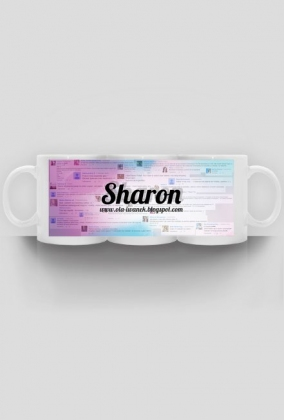 """Kubek """"Blog Sharon"""""""