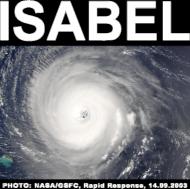 huragan Isabel