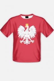 Koszulka męska z orłem