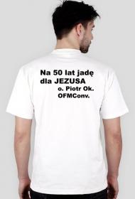"Koszulka ""Pomorska Droga Świętego Jakuba"" + tekst"