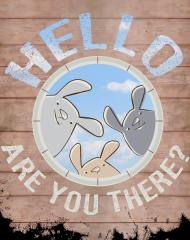 Podkładka pod mysz - are you there?