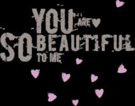 Koszulka z tekstem - you are...